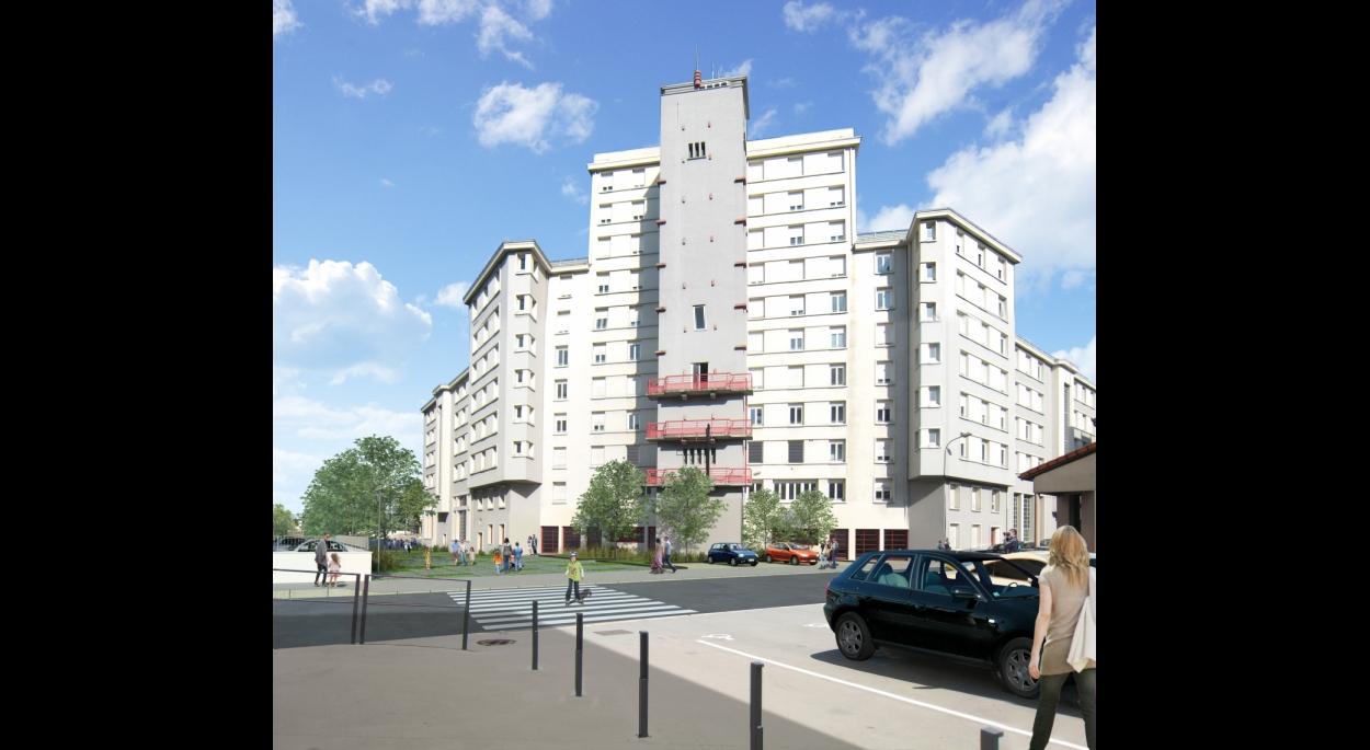 Caserne Chavanelle - Réhabilitation de logements, Résidence étudiante - XXL Atelier