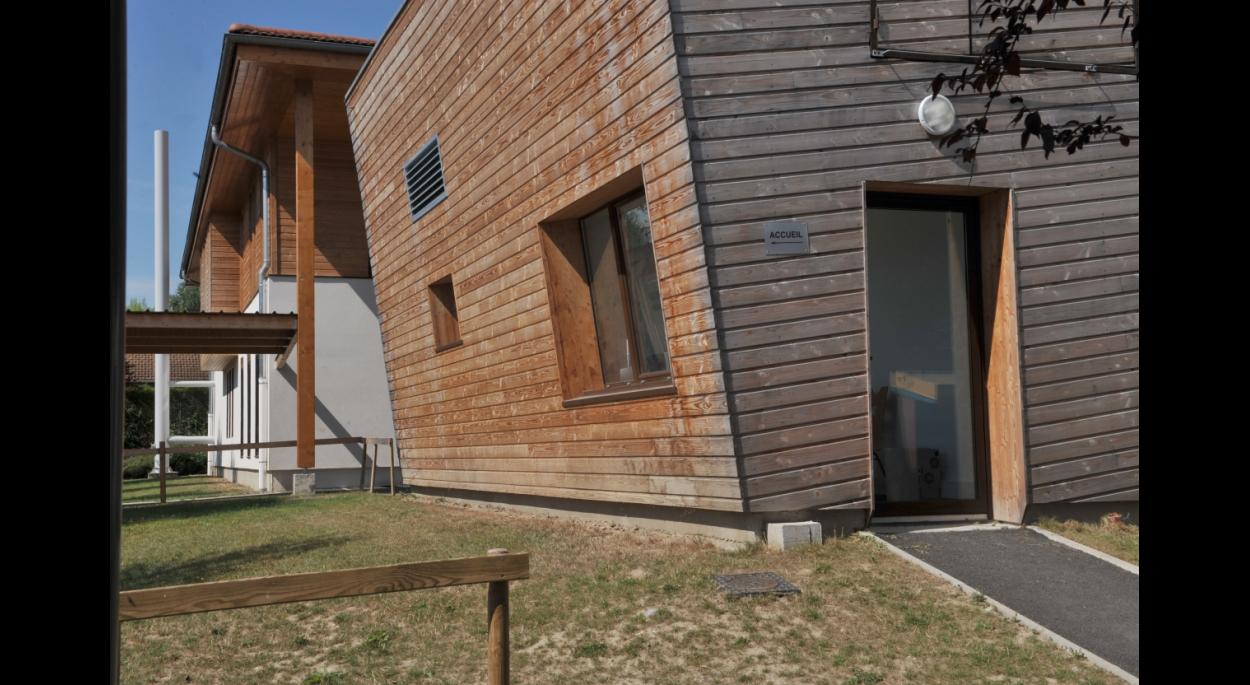Collège Simone de Beauvoir - Construction QEB salle polyvalente/extension collège - Photos Jean-Claude Parayre et Niko Rodamel  - XXL Atelier