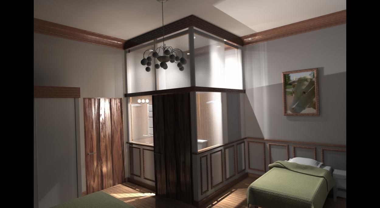 Rénovation Tourisme Gite Bien-être Hammam Sauna Accessibilité La Bourboule