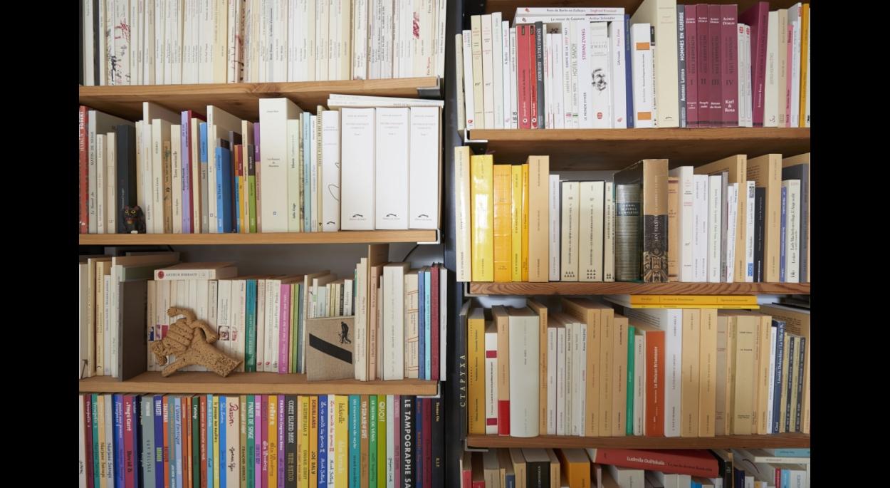 Détail bibliothèque.