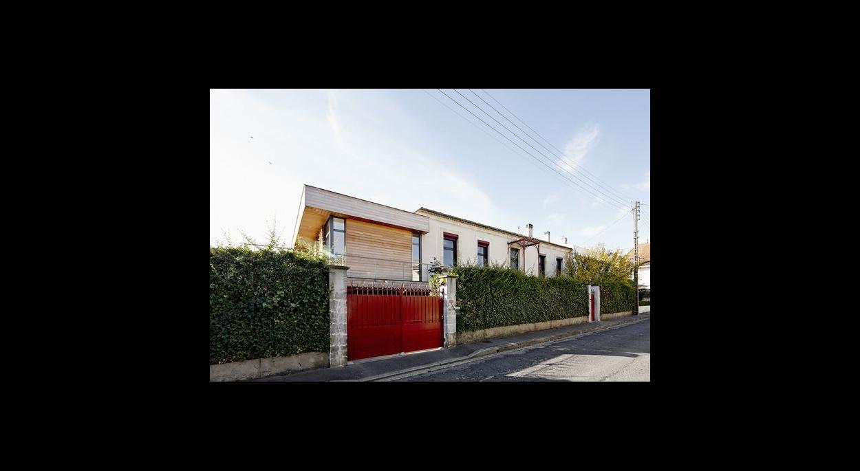 Extension Maison M33, Pessac