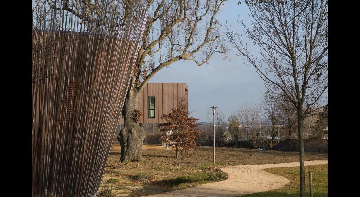 Le clos Fournereau - Construction d'un bâtiment multifonctions - Photo Balao - XXL Atelier