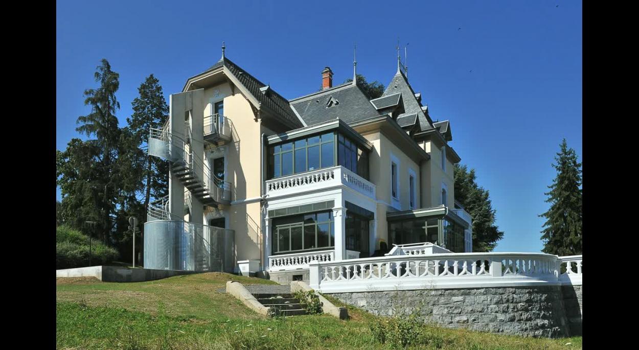 La villa Dolfuss - Réhabilitation et restructuration de la MJC d'Évian - Photo Balao - XXL Atelier