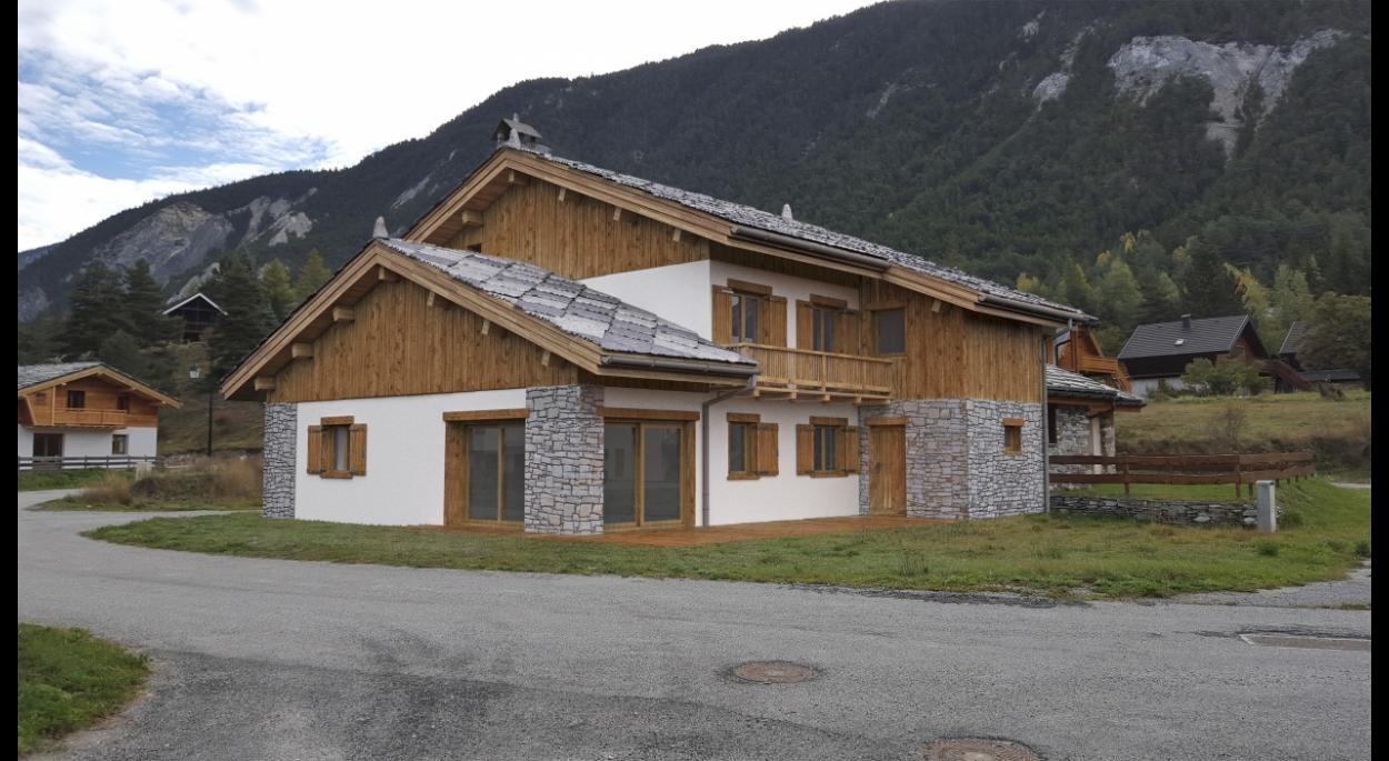 Conception d'une maison individuelle dans le lotissement de Lenfrey