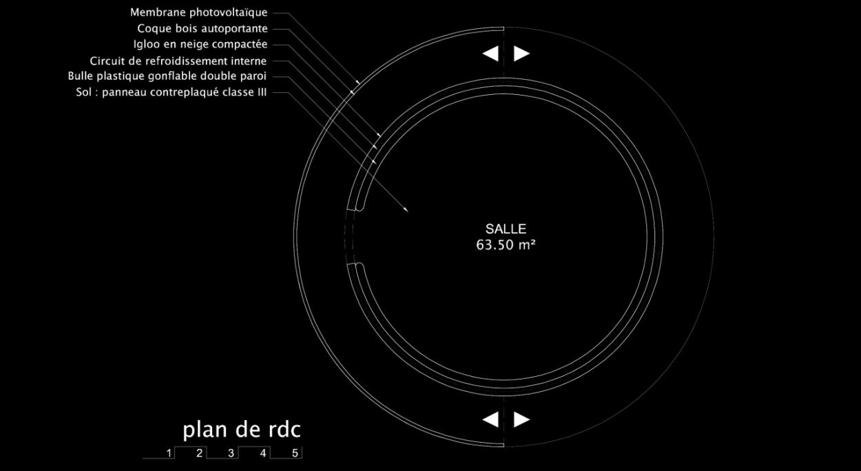 Plan de principe de l'i-gloo.