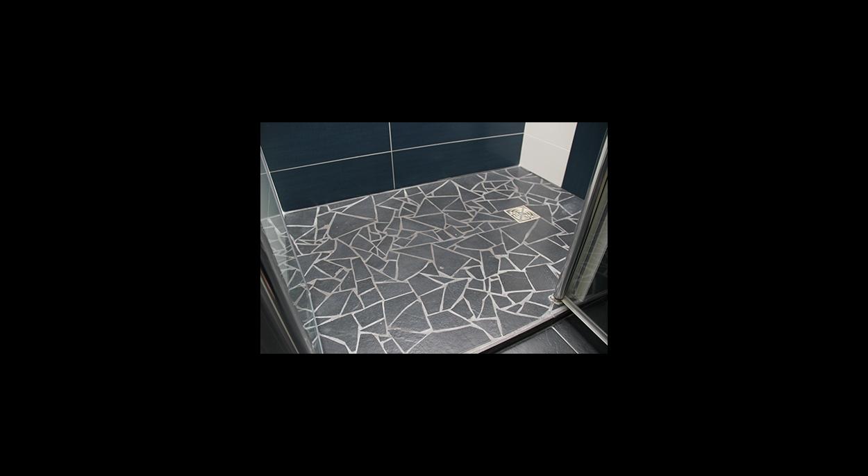 Sol de la douche