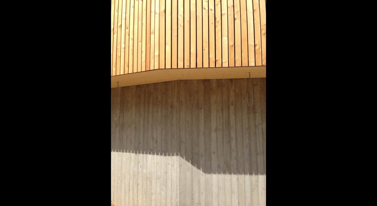Matériaux : sous bassement rez de chaussée en Béton
