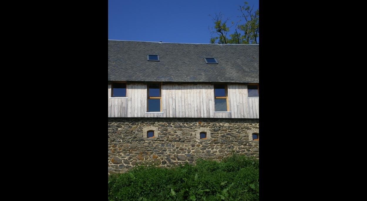 Rénovation Tourisme Gite Façade