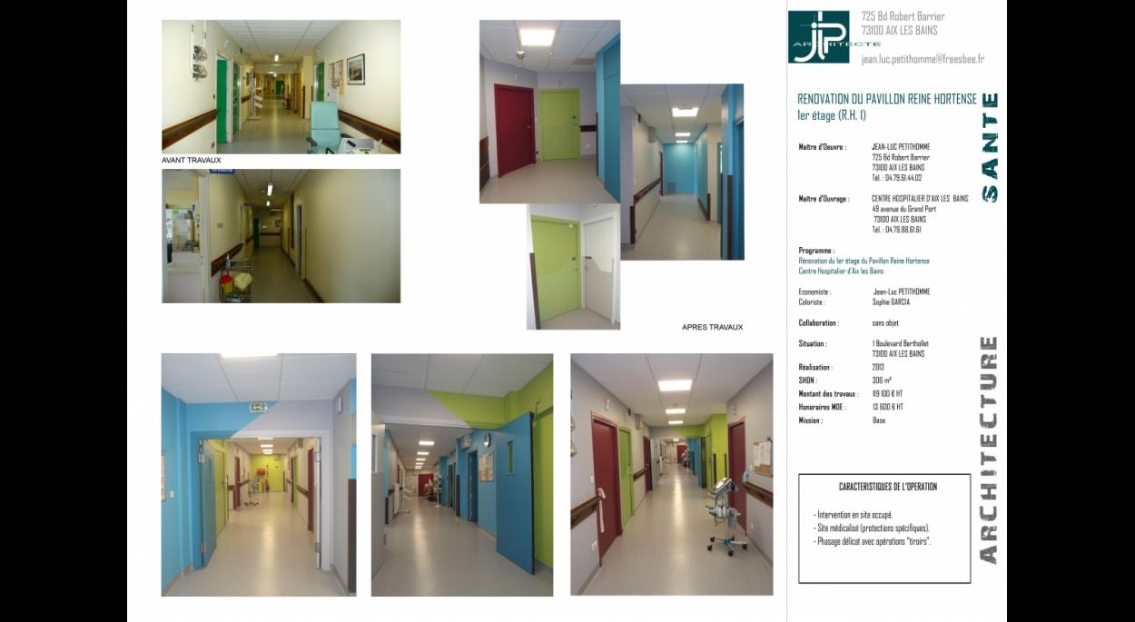 RH1 - C.H. Aix - JLP architecte