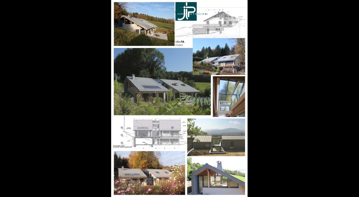 Villa F Epagny - JLP architecte