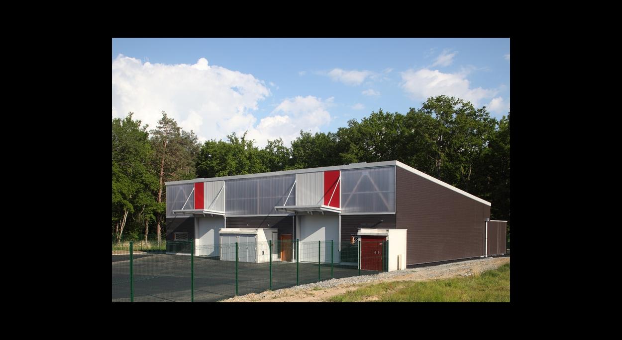 Vue façade ateliers