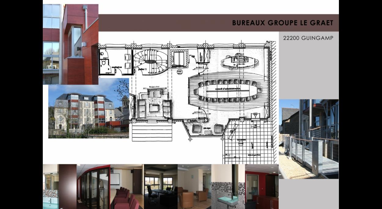 BUREAUX Groupe LE GRAET