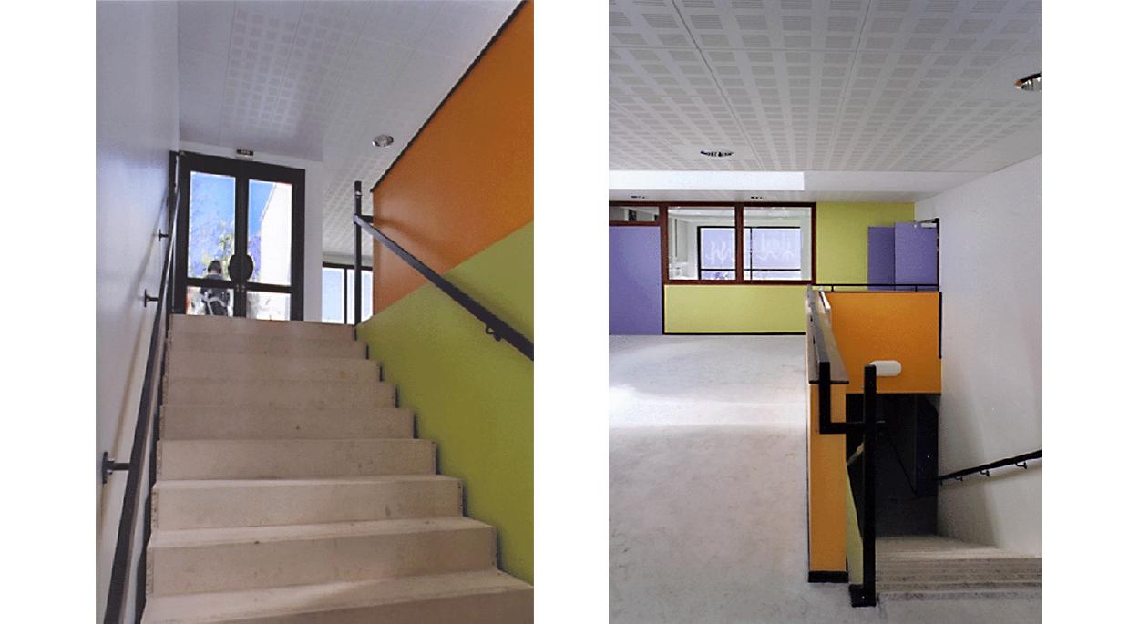 Espace intérieur , circulation - *Photos: aHa