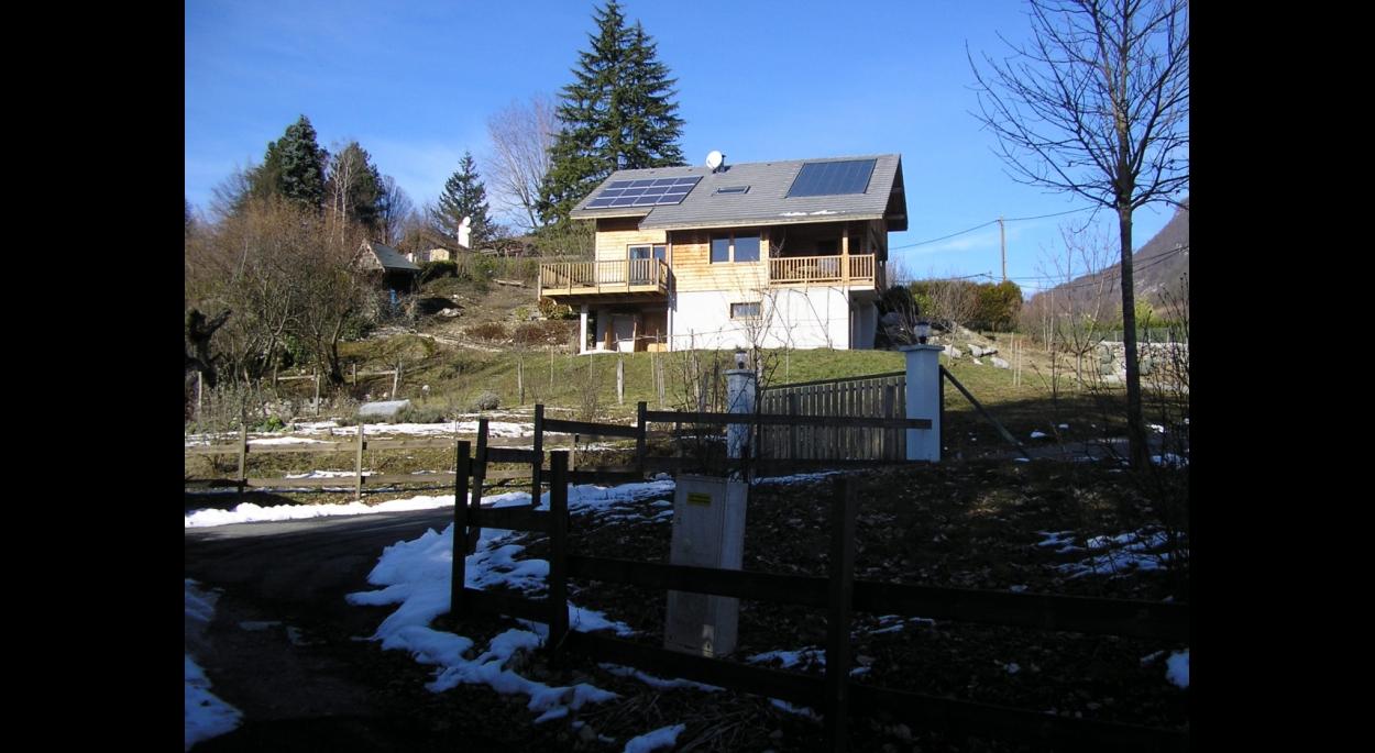Maison avant extension