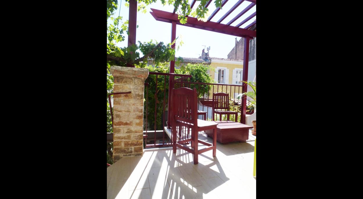 rénovation agrandissement de la terrasse
