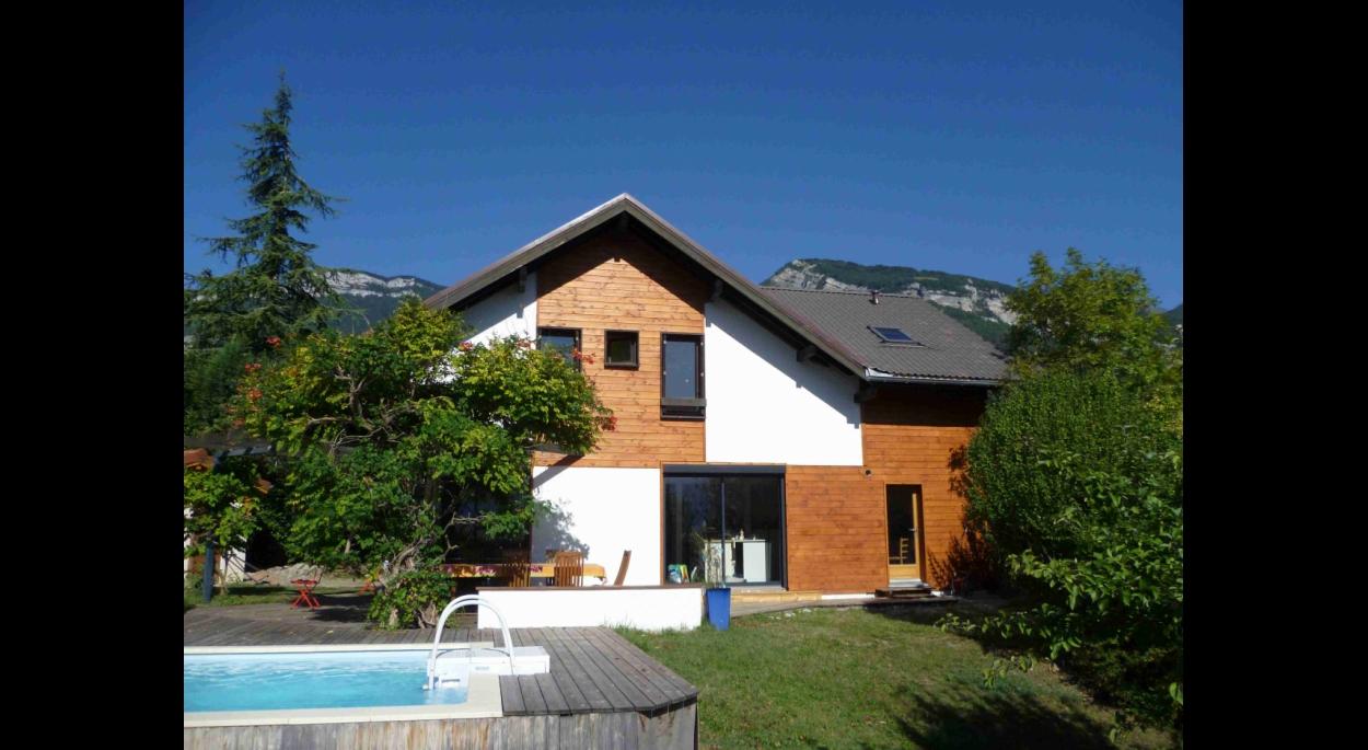 Extension villa ossature bois