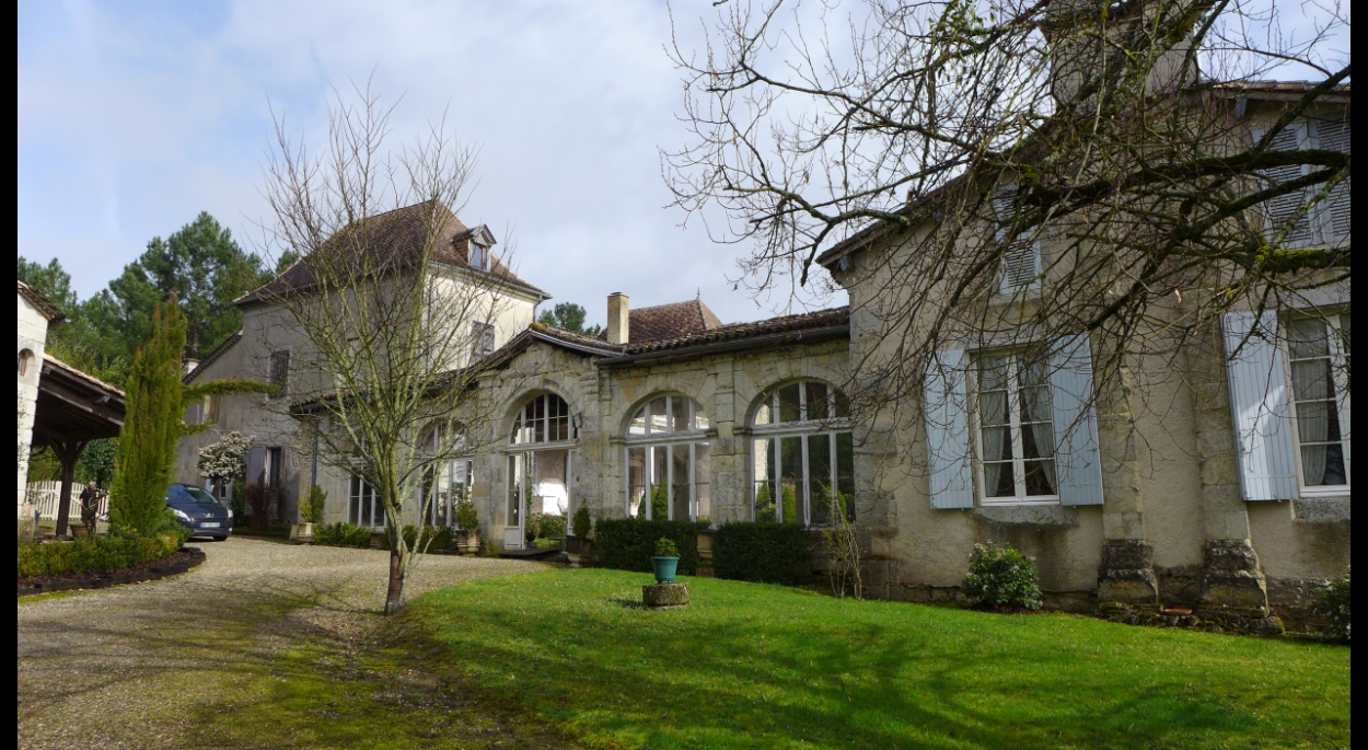 Réhabilitation d'une demeure bourgeoise du dix-huitième dans le Lot-et-Garonne