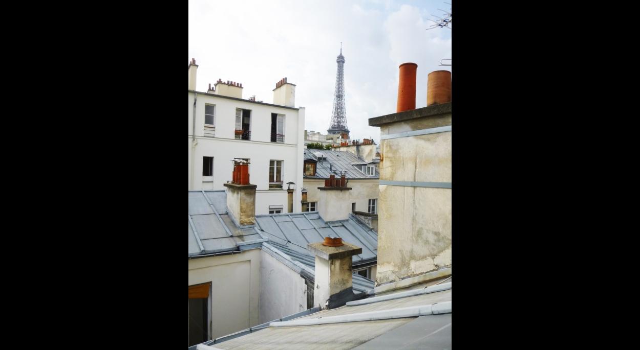 Paris Eiffel_Vue depuis l'immeuble