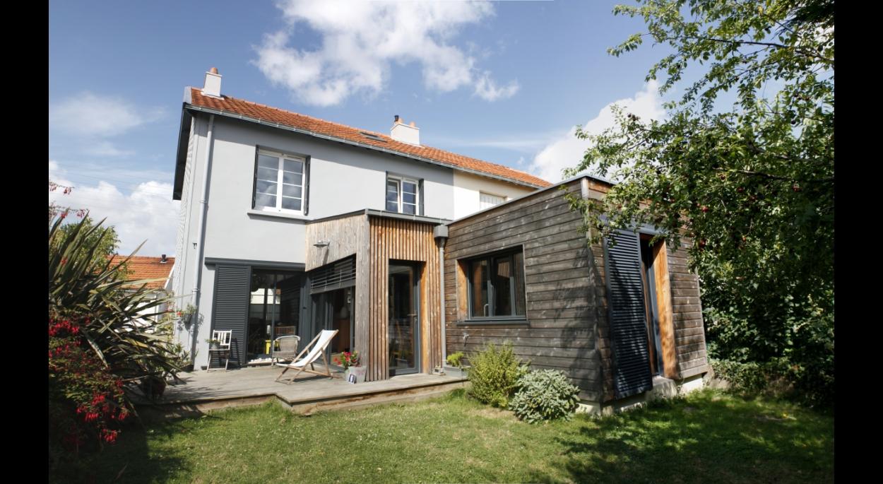 Extension et terrasse bois
