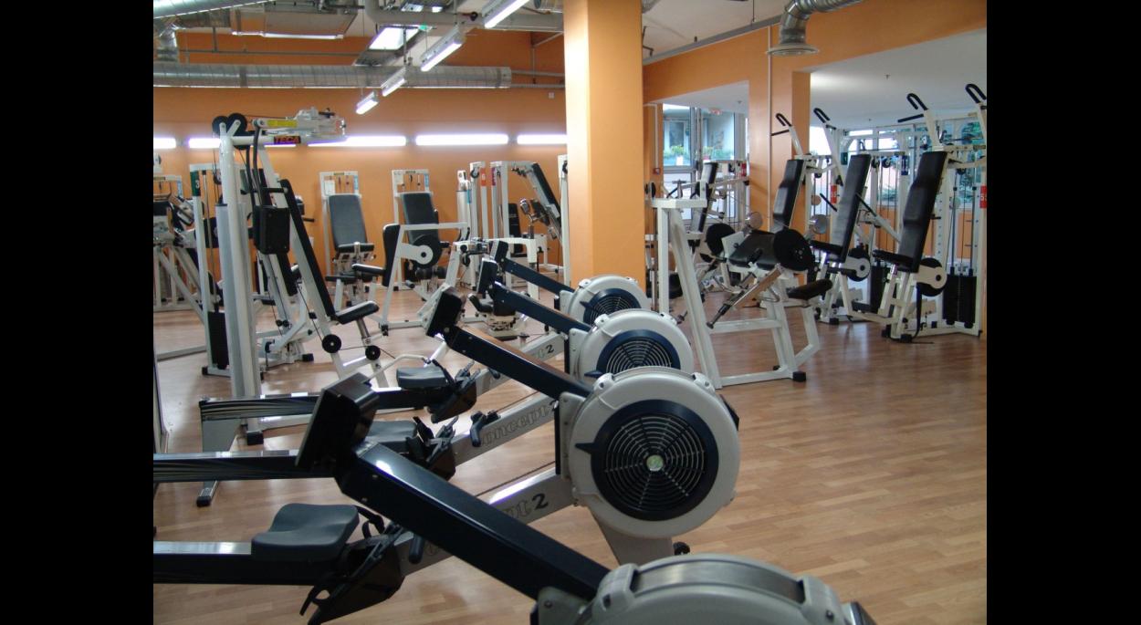 la salle de cardio-training