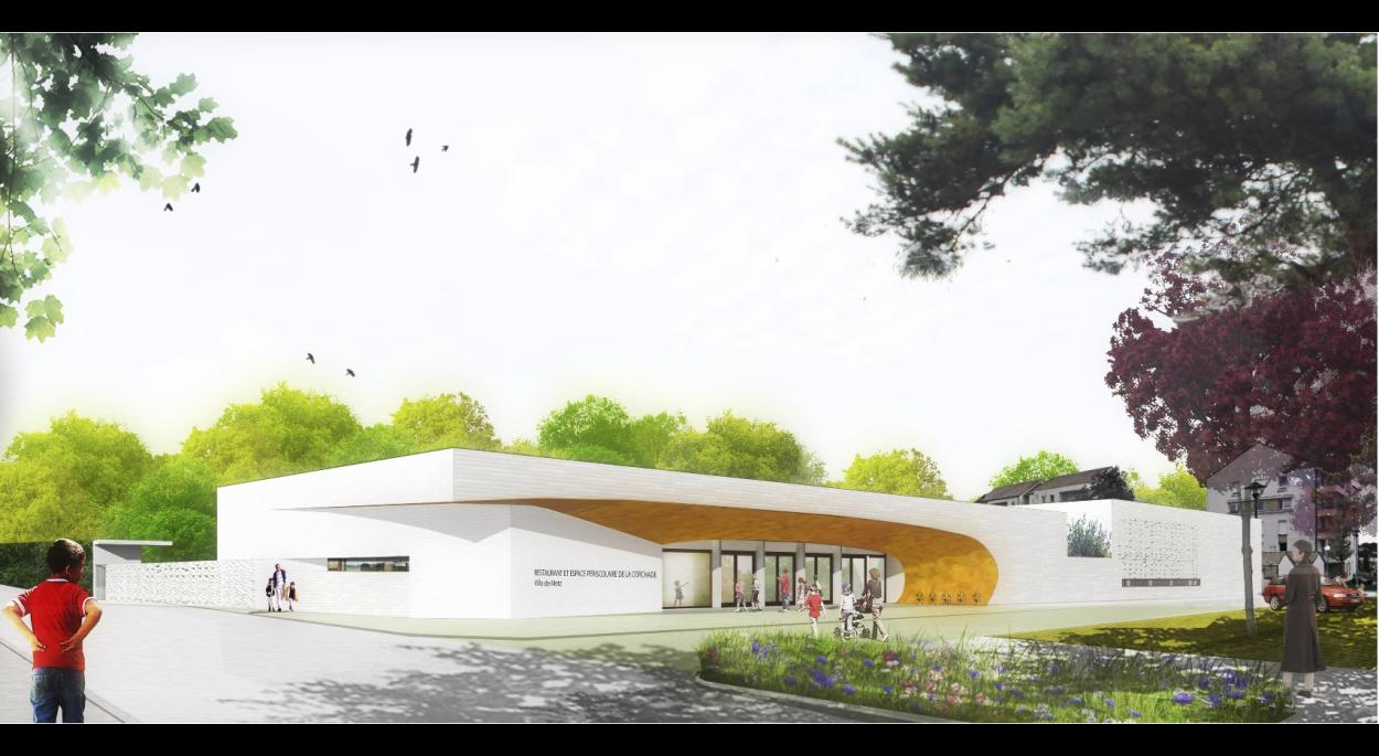 Restaurant scolaire et Accueil Périscolaire _ Benjamin Fedeli - Vincent Toffaloni Architectes