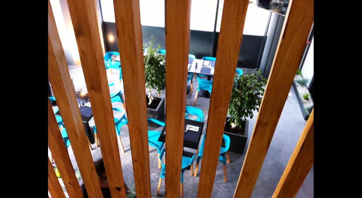 lattage bois escalier