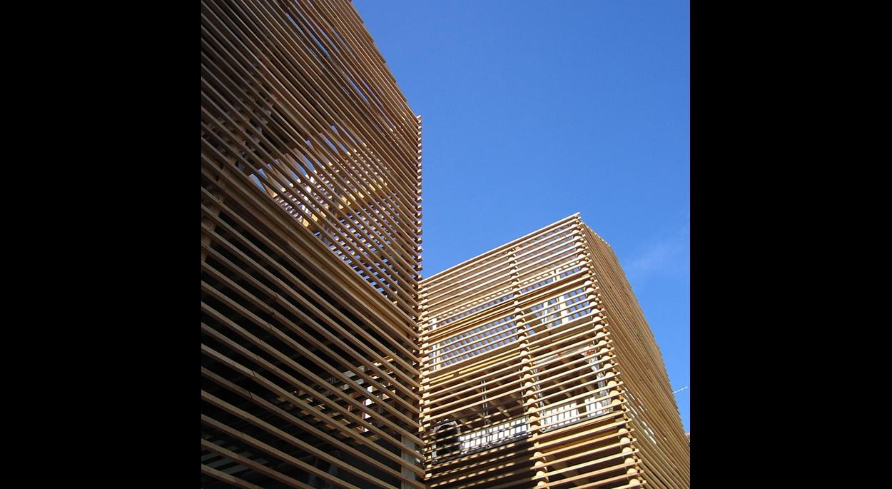 Les terrasses et brises soleil - *Photos:Hervé Abbadie®