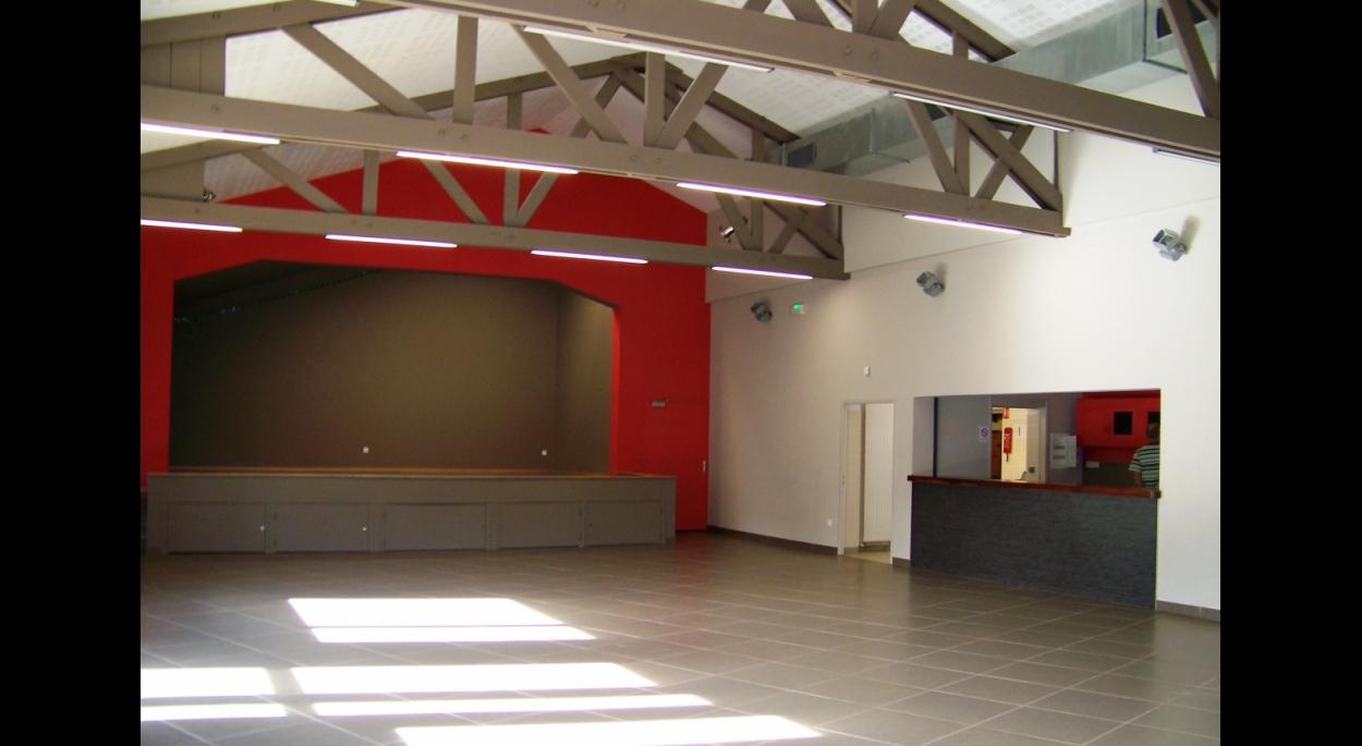la salle et la scène