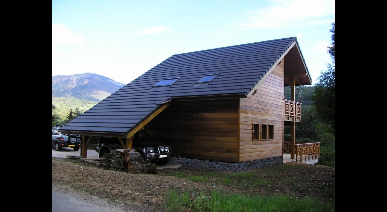 Maison ossature bois 2 logements