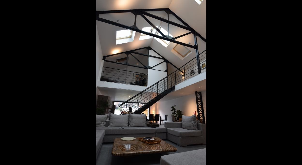 Diaporama de agence jacques lenain architecte lille for Garage la madeleine