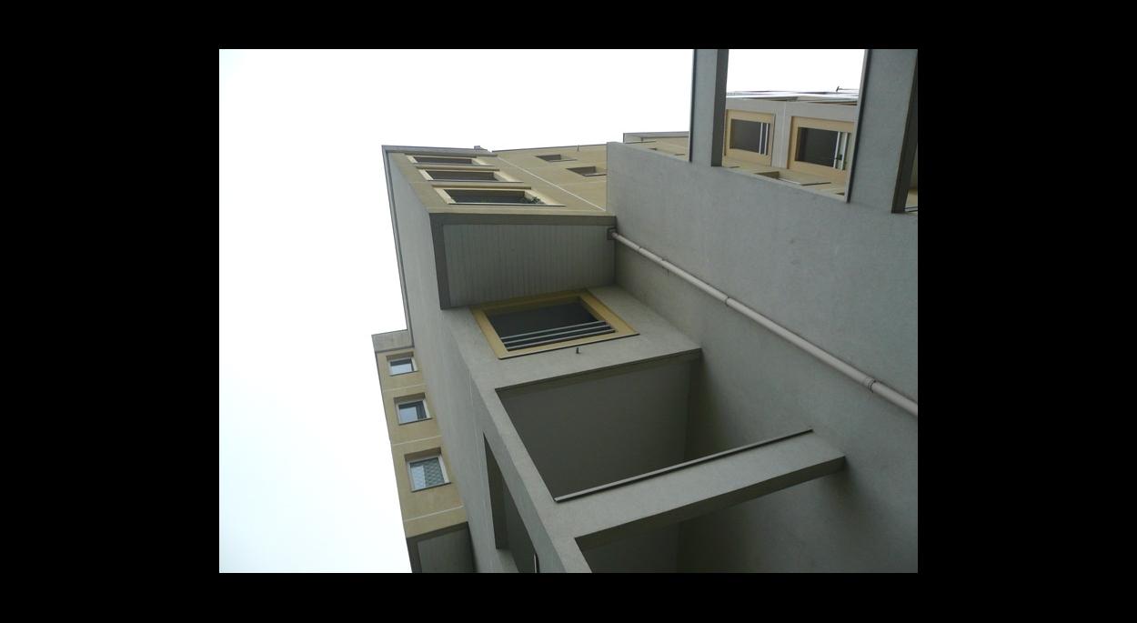 Modénature des loggias et balcons