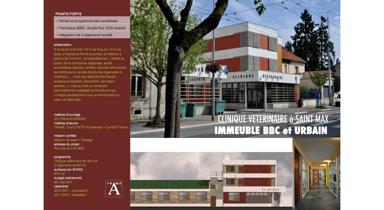 Immeuble BBC urbain