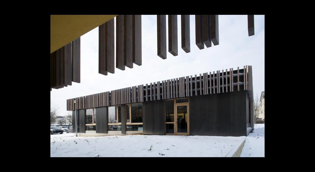Pole BTP de la Moselle_ Benjamin Fedeli - Vincent Toffaloni Architectes