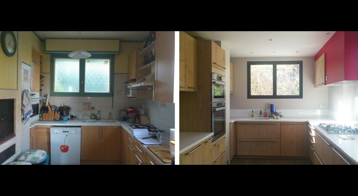 R novation cuisine salle de bain et salon salle manger for Renovation salle a manger et salon