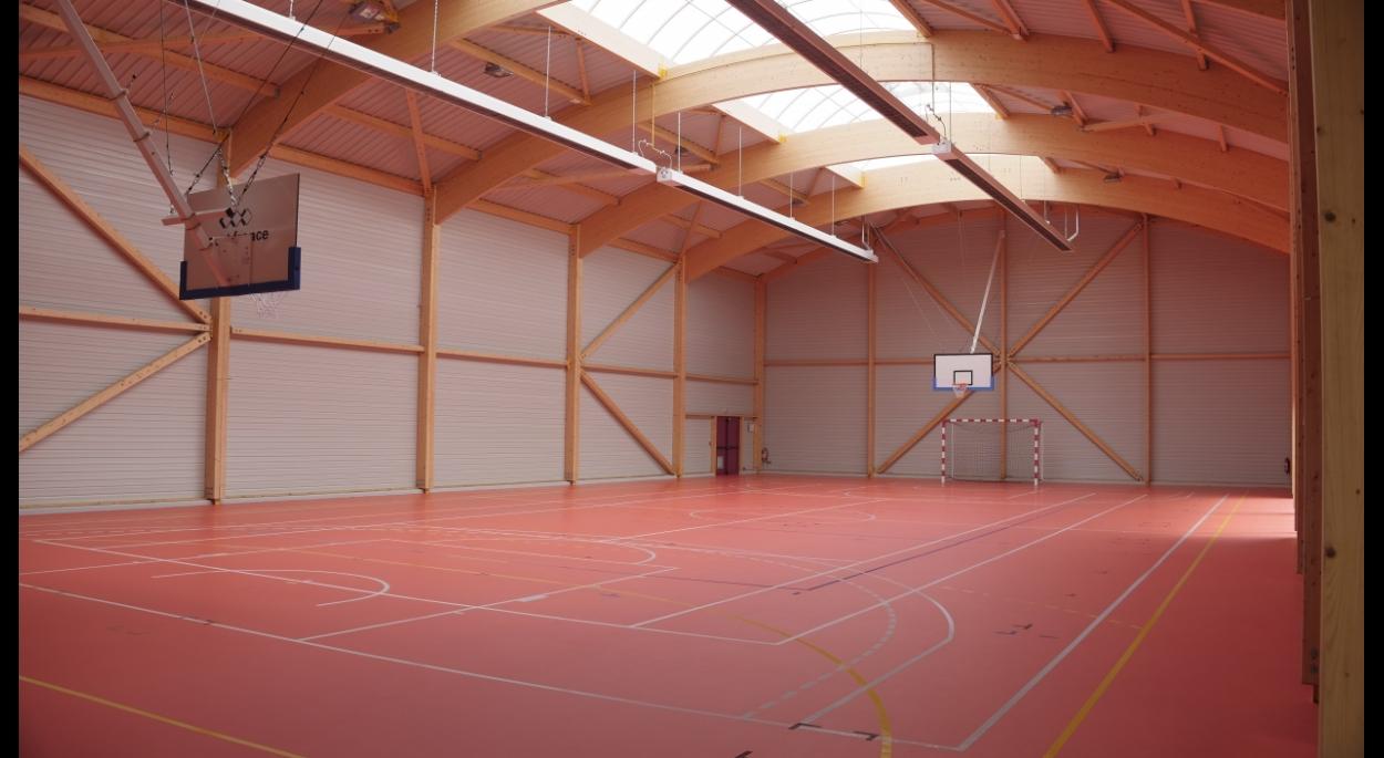Salle polyvalente à dominante sportive - DOMPIERRE SUR HELPE