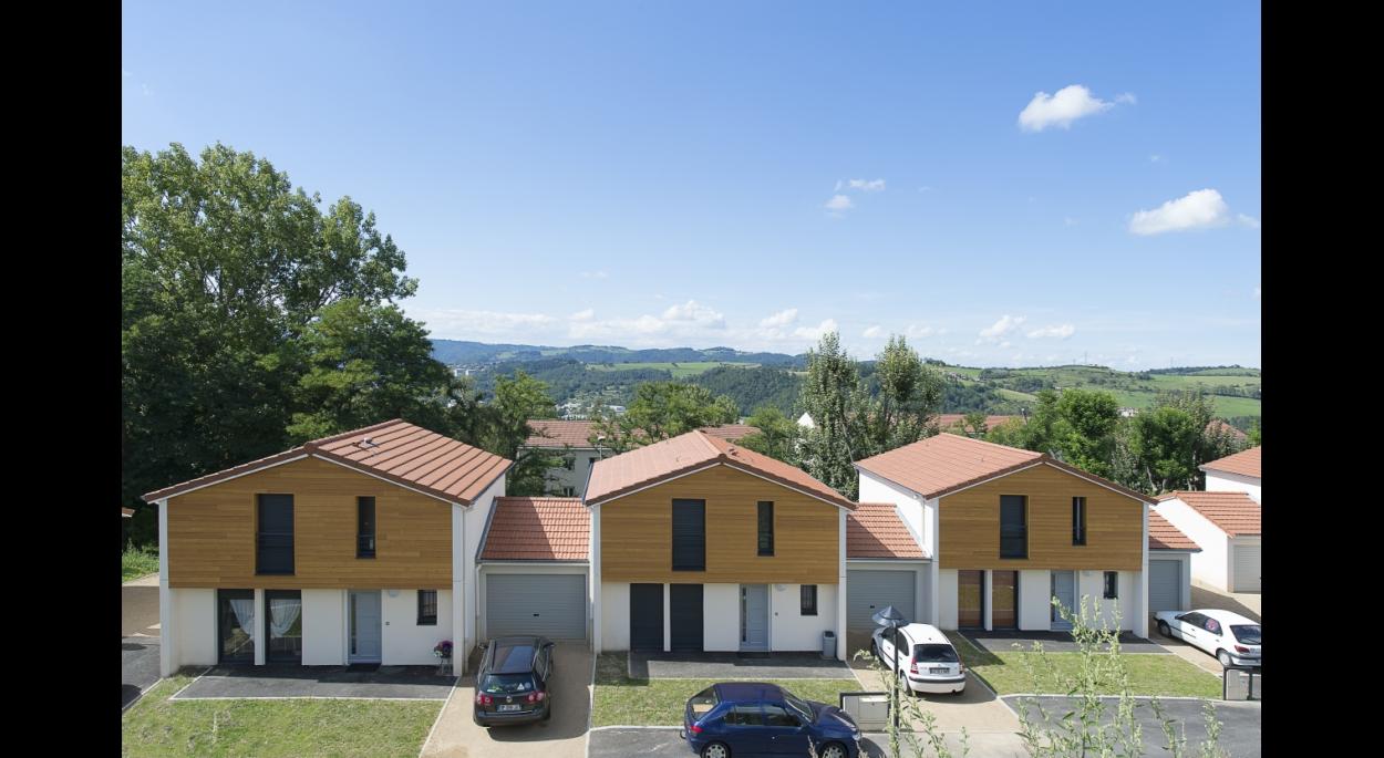 Lotissement les Marronniers - Construction de 24 maisons locatives - Photo Balao - XXL Atelier