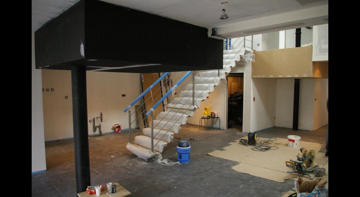 am nagement d un plateau industriel en loft lys lez lannoy pr s de roubaix tourcoing. Black Bedroom Furniture Sets. Home Design Ideas