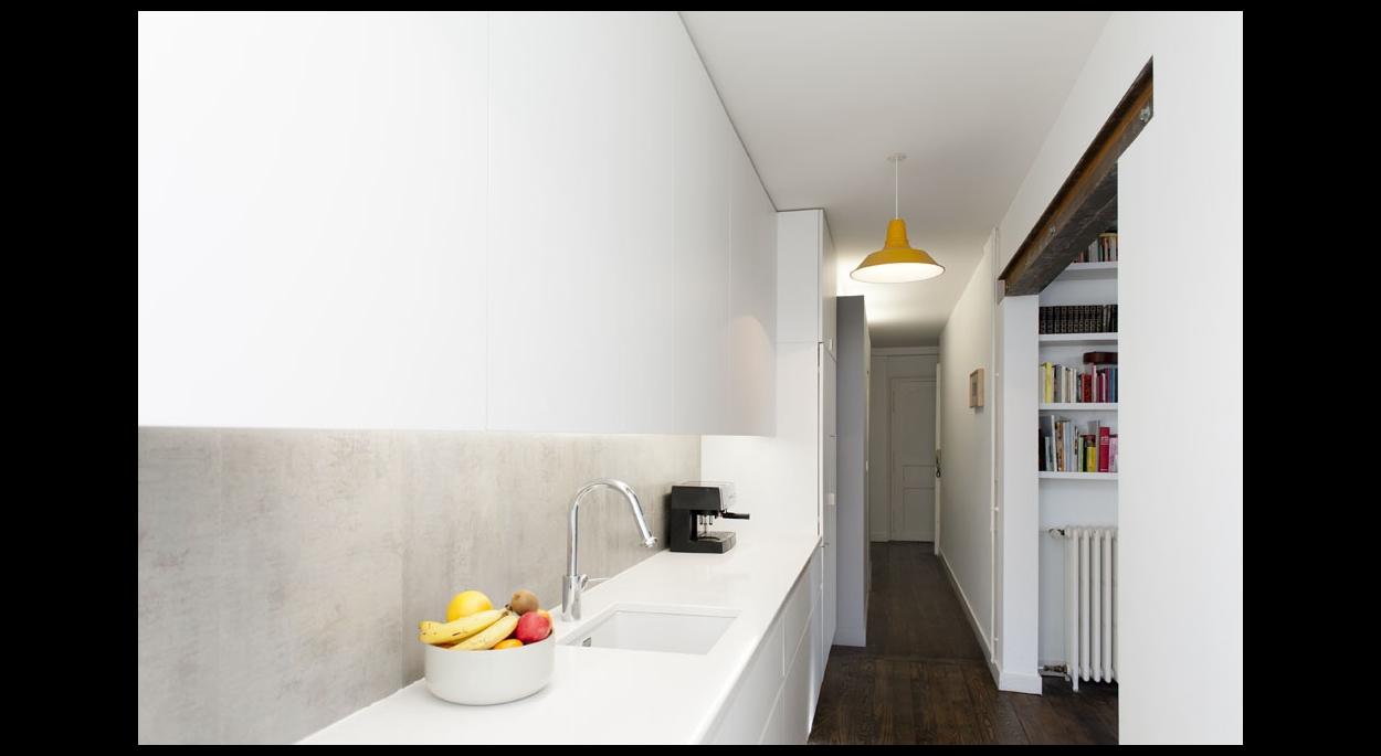 r novation d 39 un appartement gayet roger architectes bordeaux gironde ordre des architectes. Black Bedroom Furniture Sets. Home Design Ideas