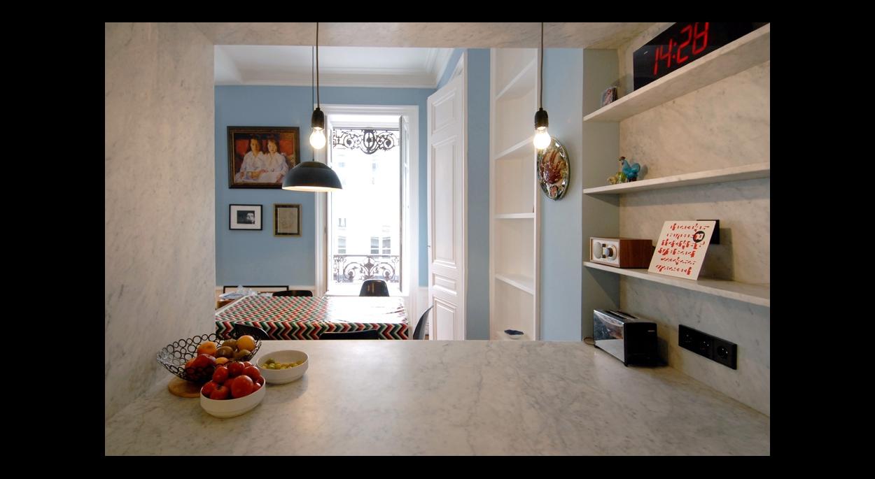 Francois Texier Architecte rénovation appartement
