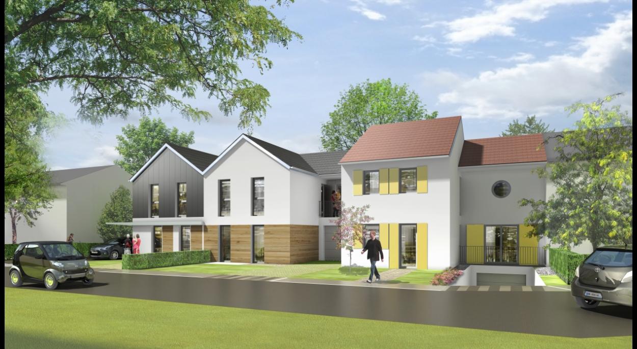 Construction de 17 maisons individuelles à Wissous