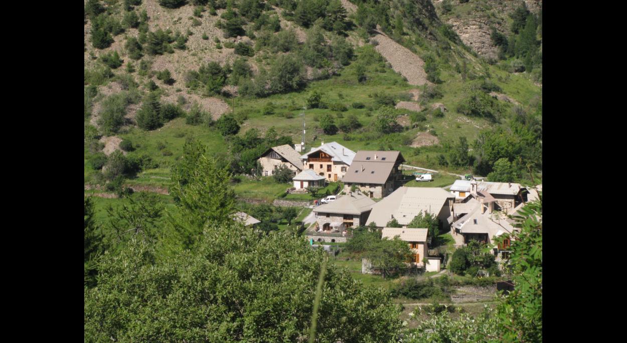 La ferme actuelle à Praveyral