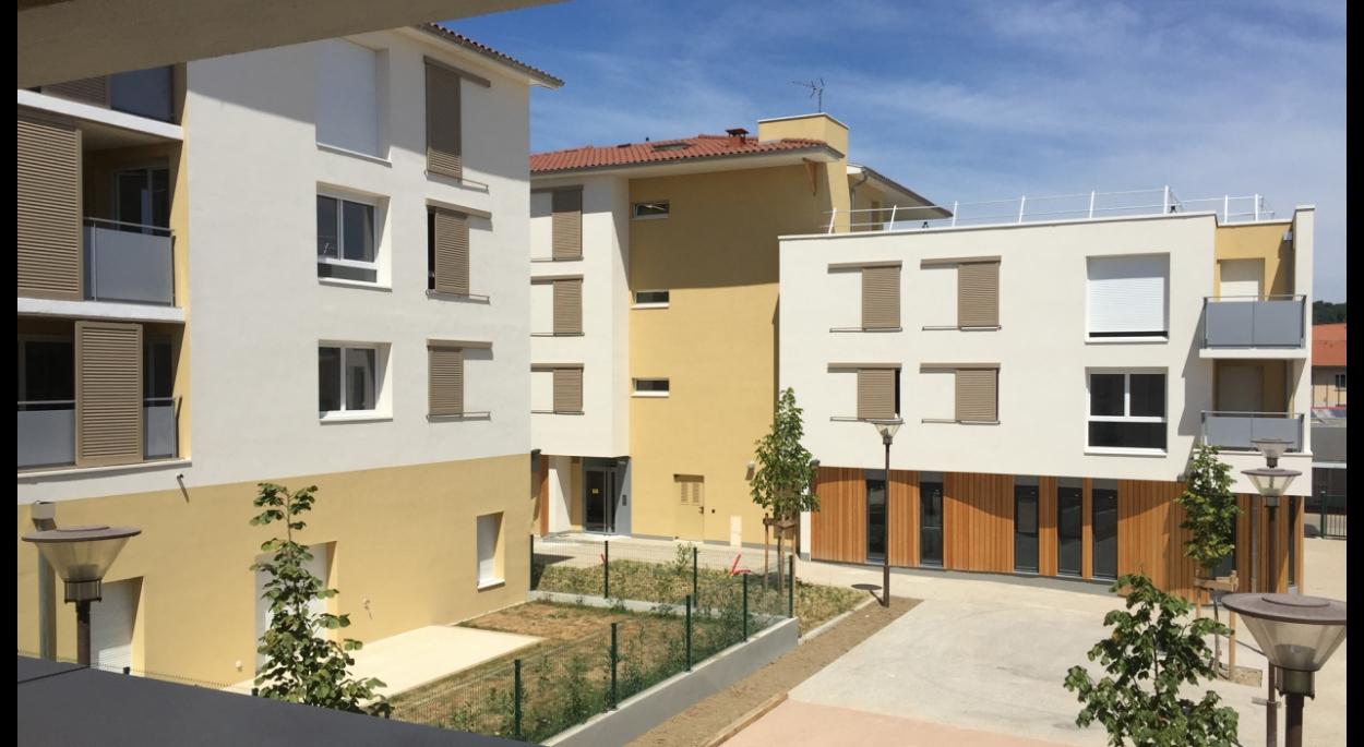 39 logements à Dagneux avec commerces en rez-de-chaussée