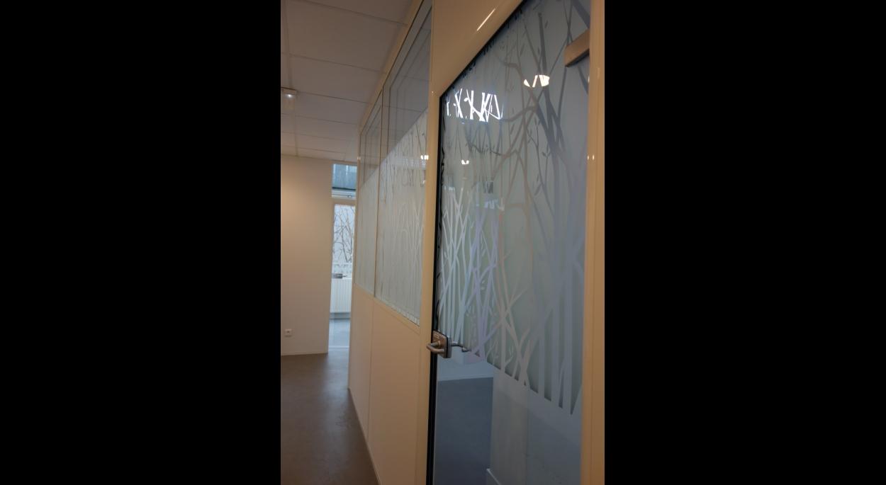 Les vitrages permettent la pénétration de lumière