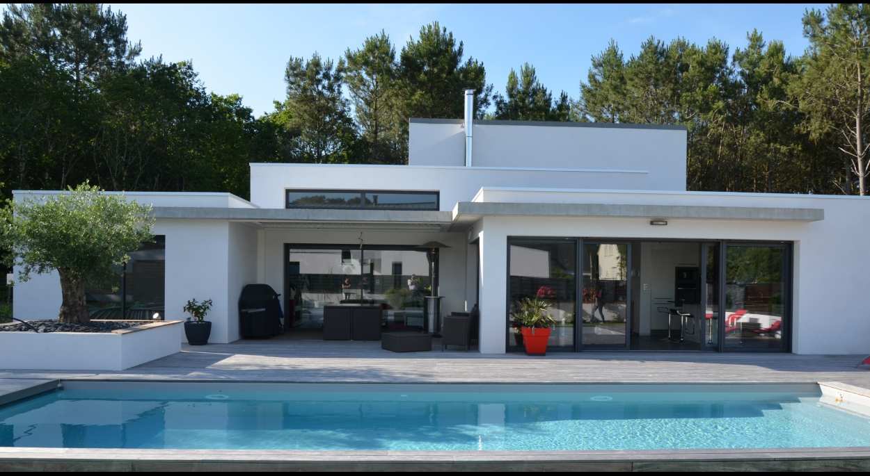 maison architecte 56. Black Bedroom Furniture Sets. Home Design Ideas