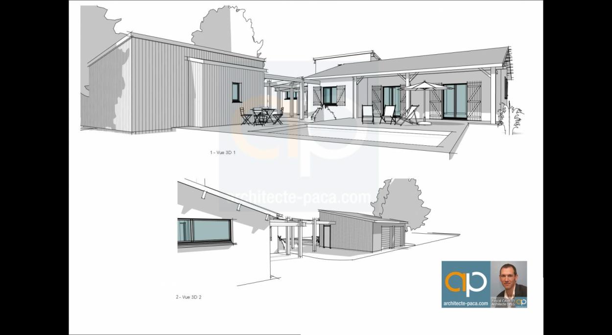 Création d'un garage et une piscine sur GAILLAC (81600)