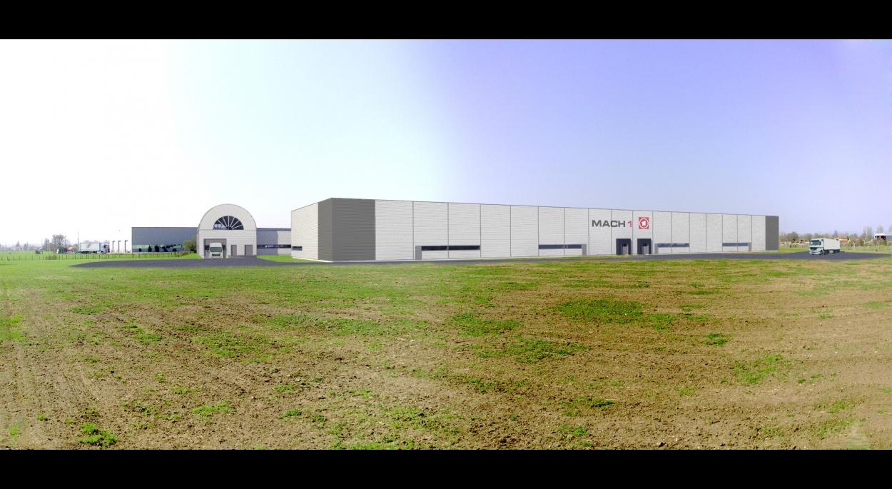 MACH I - Construction de deux bâtiments industriels - XXL Atelier