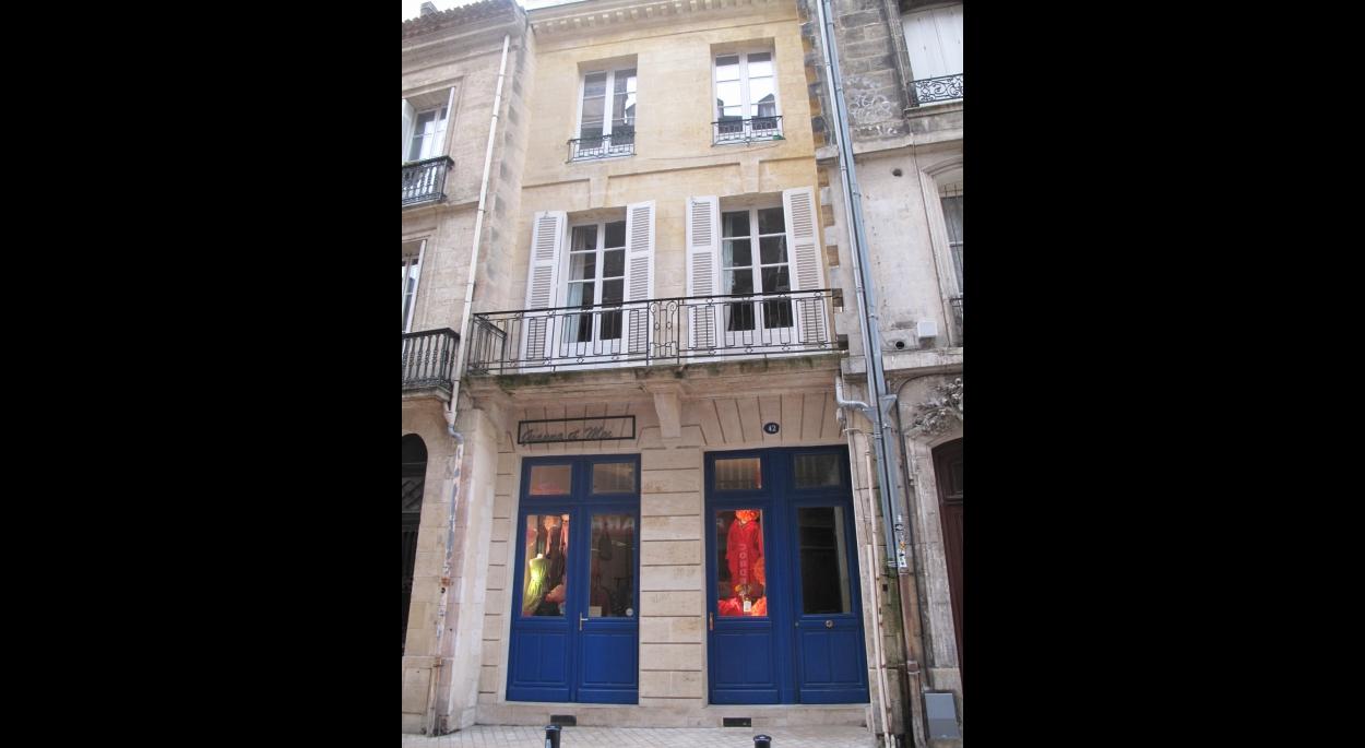 Restauration immeuble pierre centre historique Bordeaux