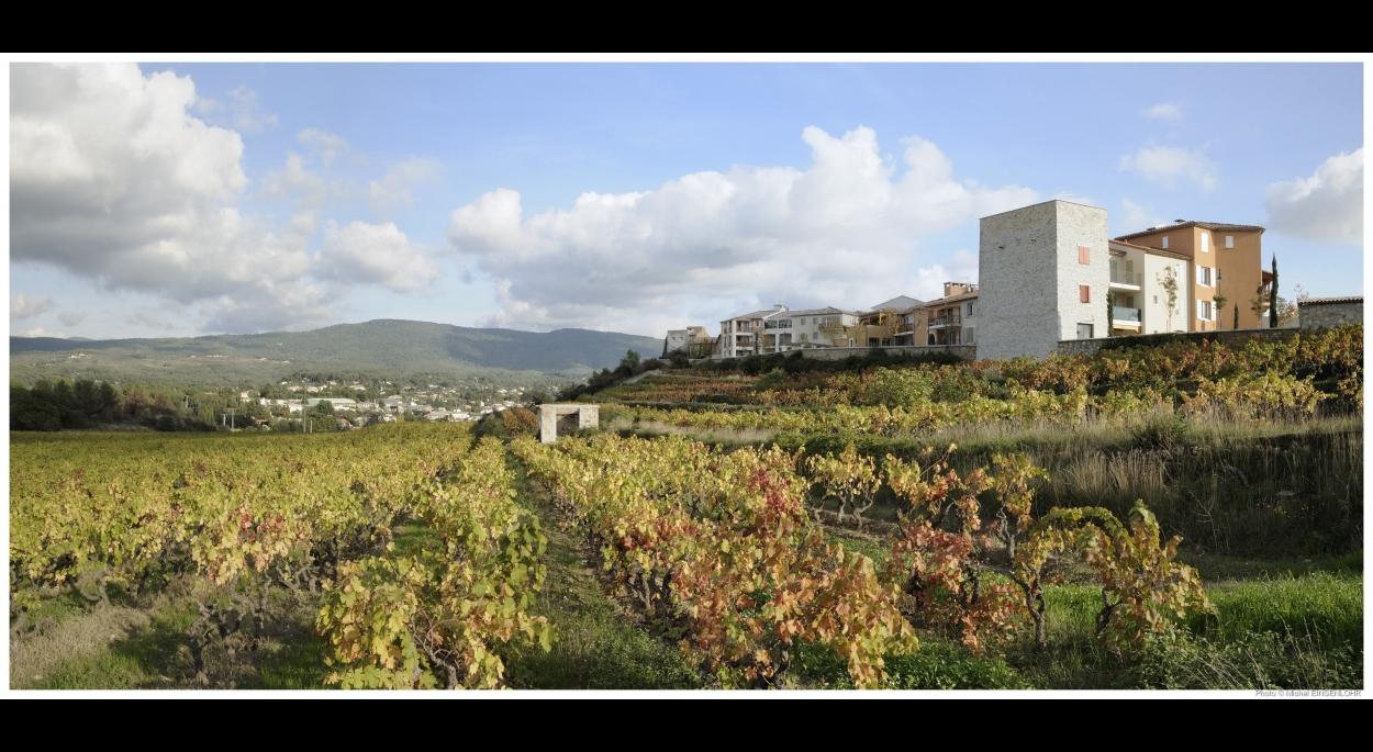 Le Vallon des Vignes - LE BEAUSSET (83) - Atelier XAVIER BOHL & Agence Jérôme SIAME