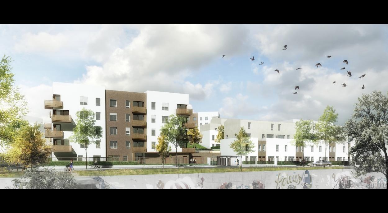 86 logements BBC, Les Mureaux (78)