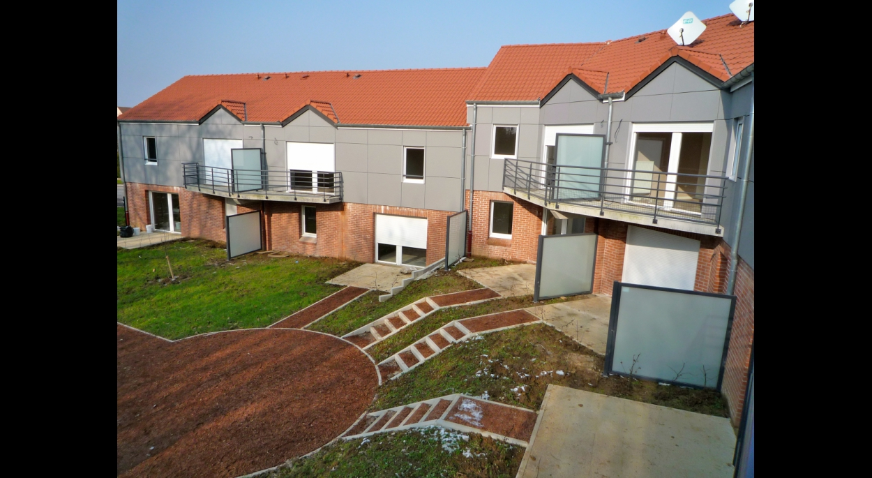 Construction  de 12 logements collectifs locatifs  - AVESNES LEZ AUBERT